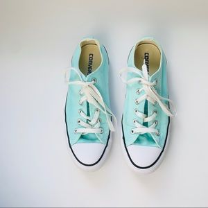 Converse All Star Tiffany Color Sneakers